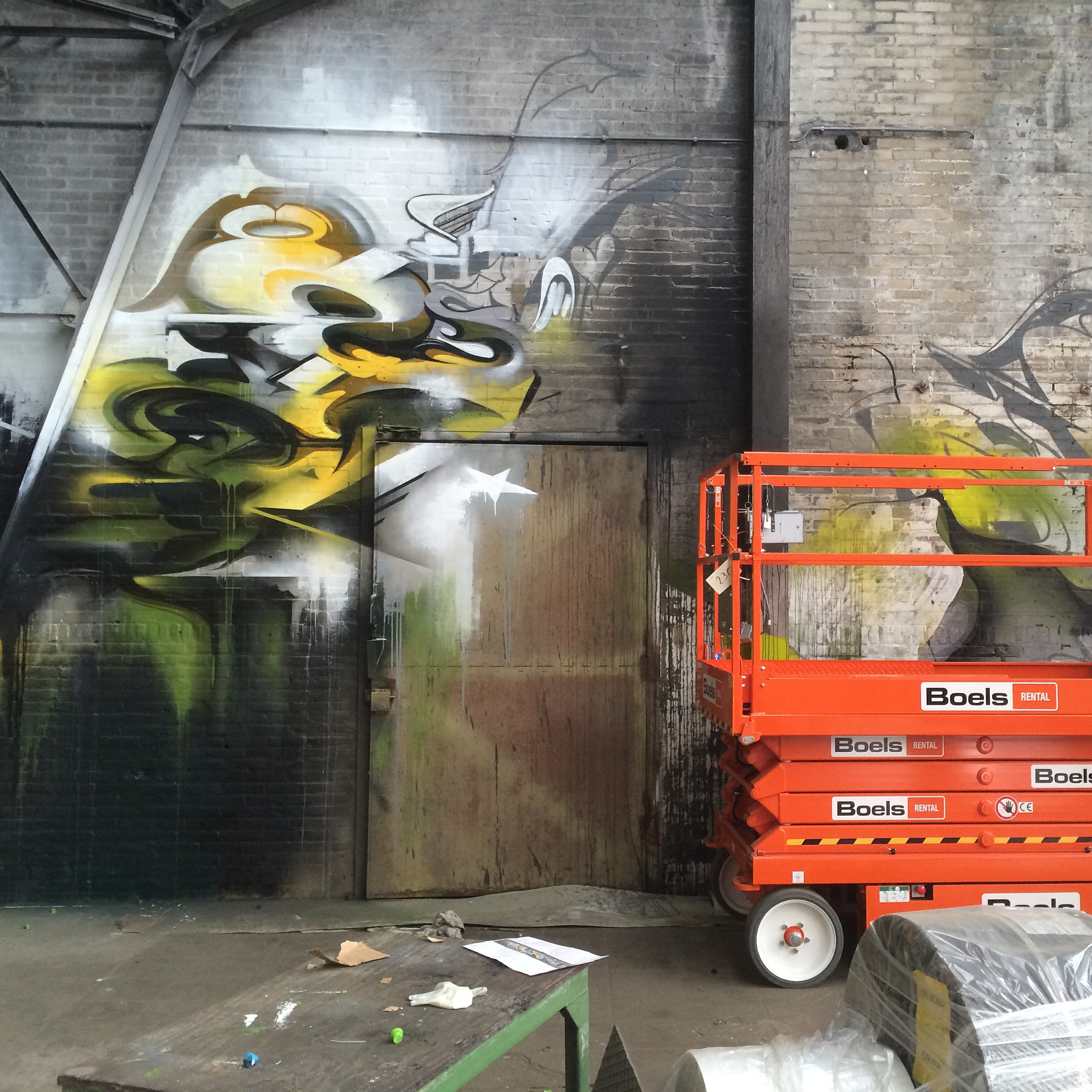 A work by Does - Warehouse eygelshoven the netherlands 6
