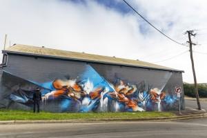 Toowoomba australia mural 2