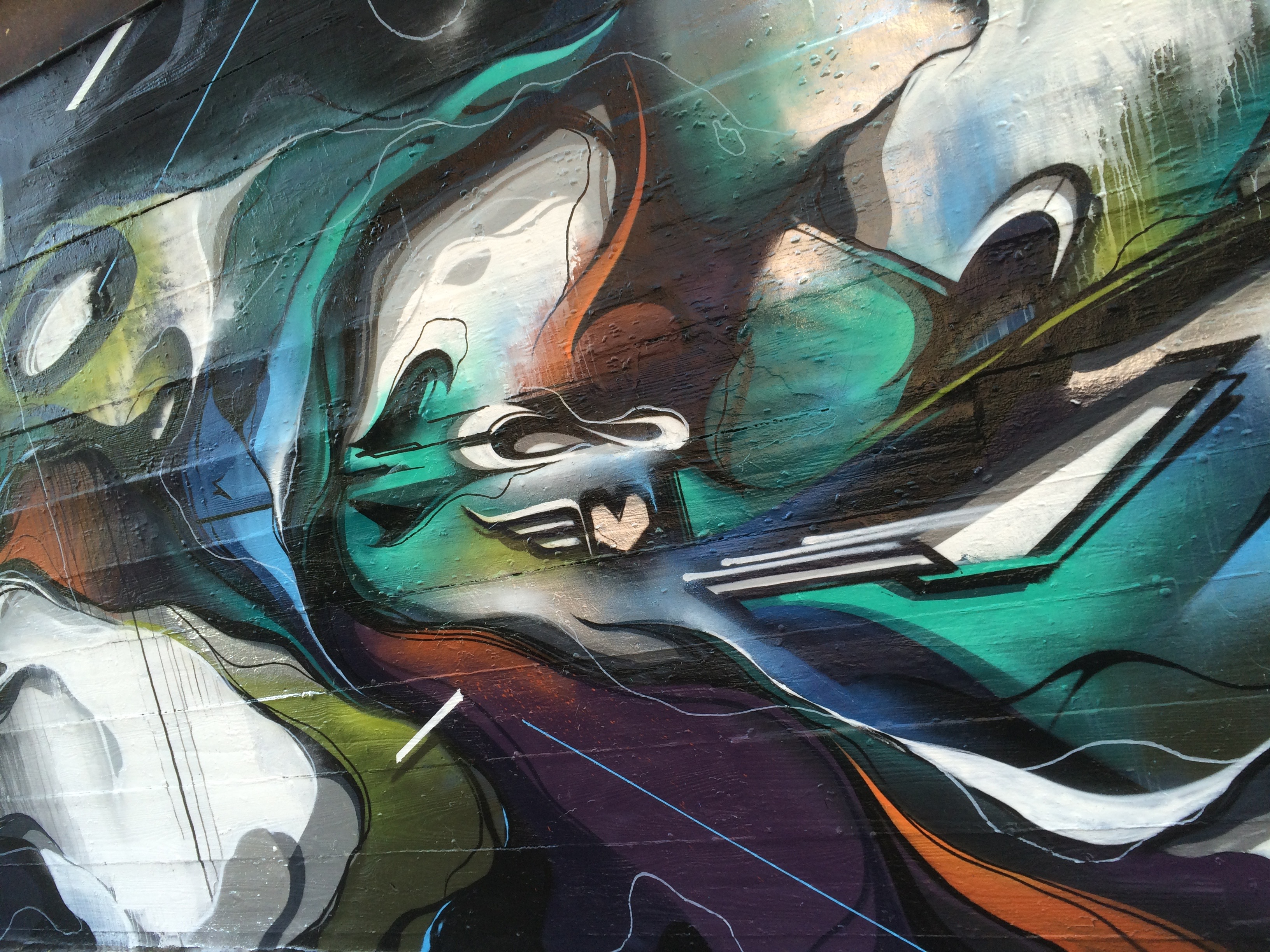 A work by Does - Chicago usa mural detail 5