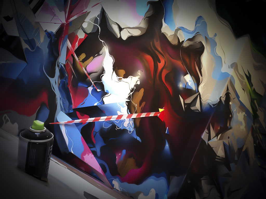 A work by Does - Clashwall amsterdam the netherlands detail 4