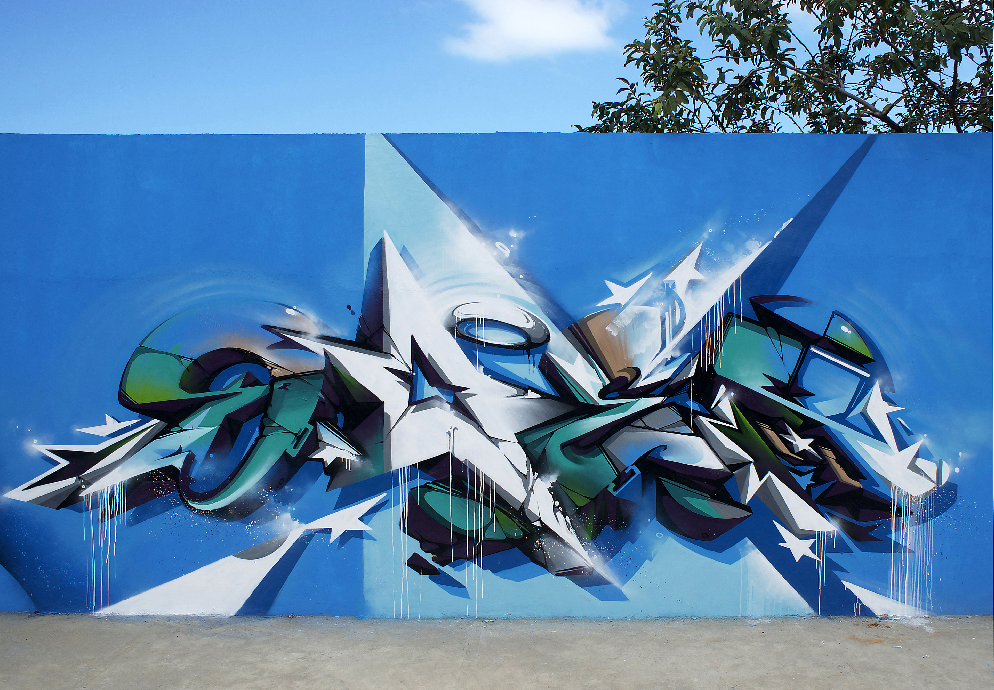A work by Does - Does favela copacabana rio de Janeiro brazil 2013