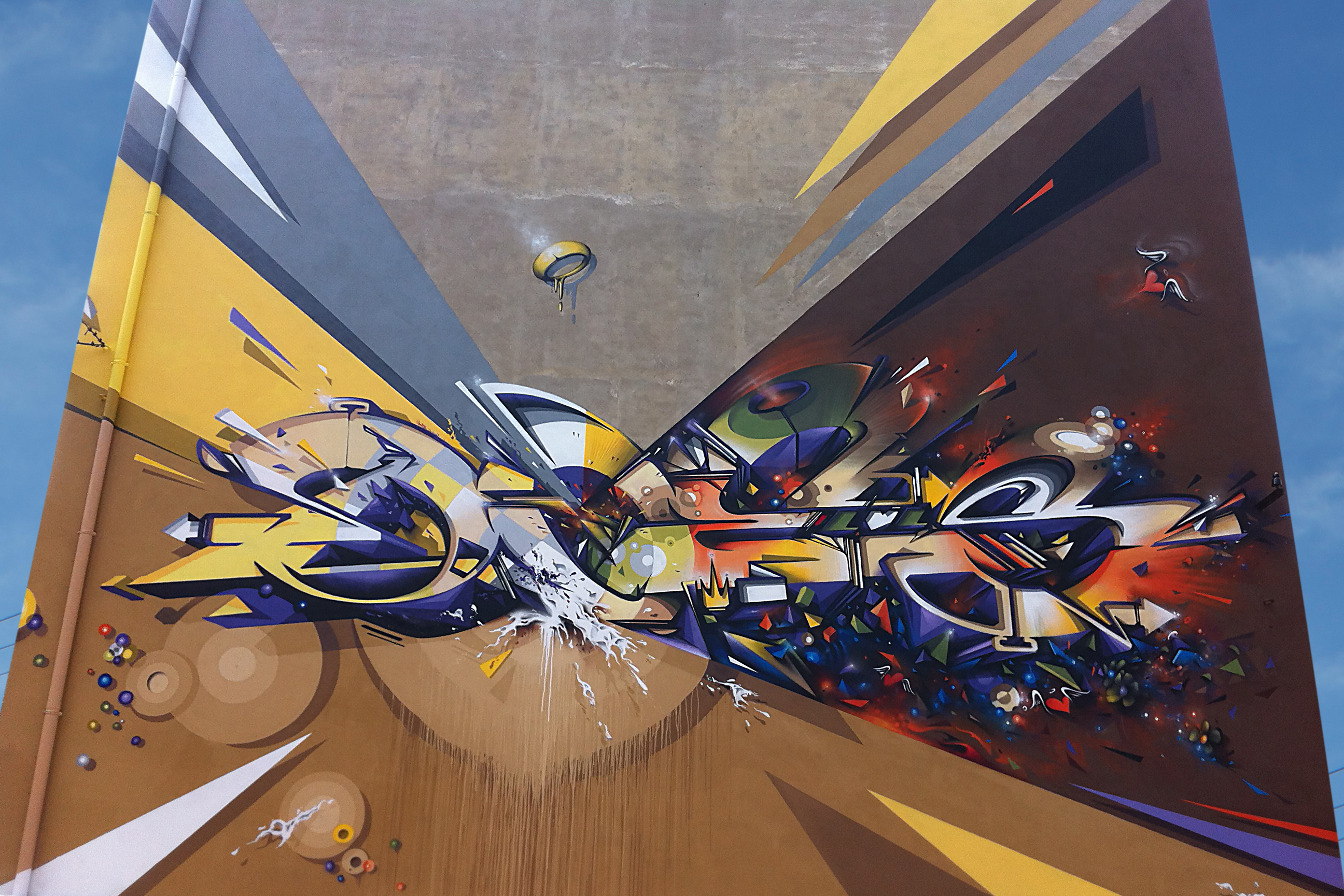 A work by Does - Frontier bologna italy detail 2