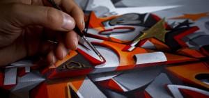 Canvas style studies detail 1