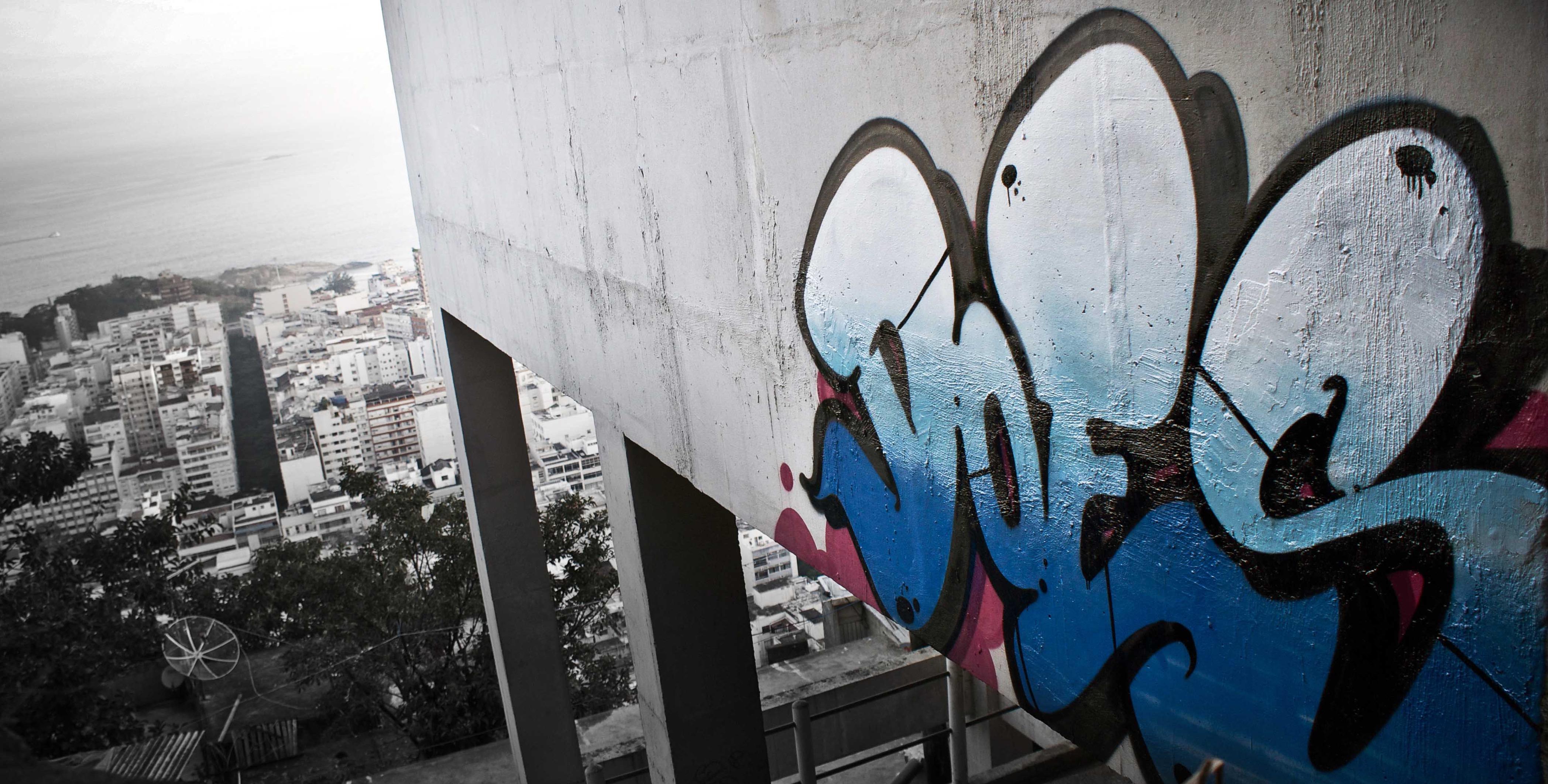 A work by Does - Does favela copacabana rio de Janeiro brazil 2013 2
