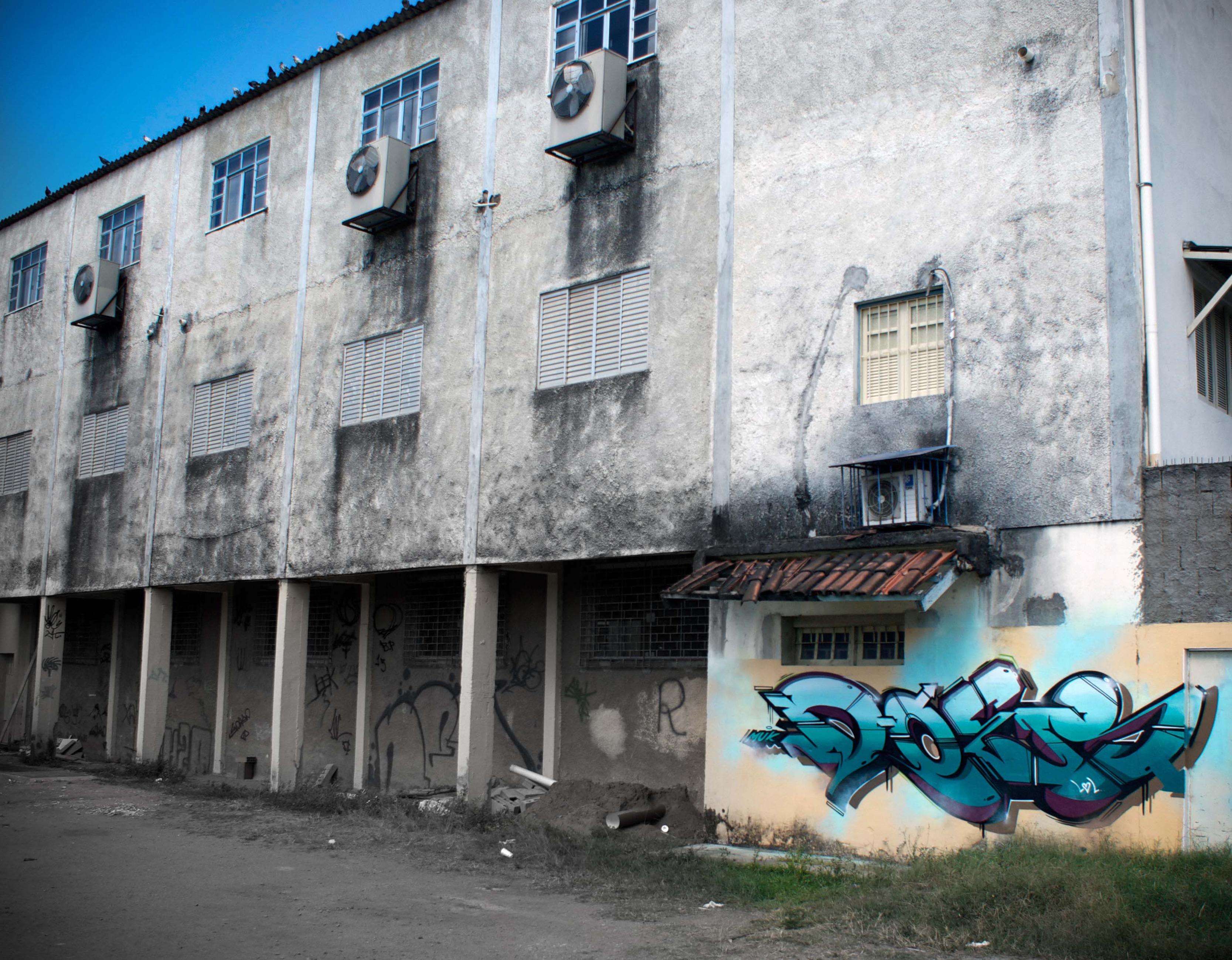 A work by Does - Does favela copacabana rio de Janeiro brazil 2013 3