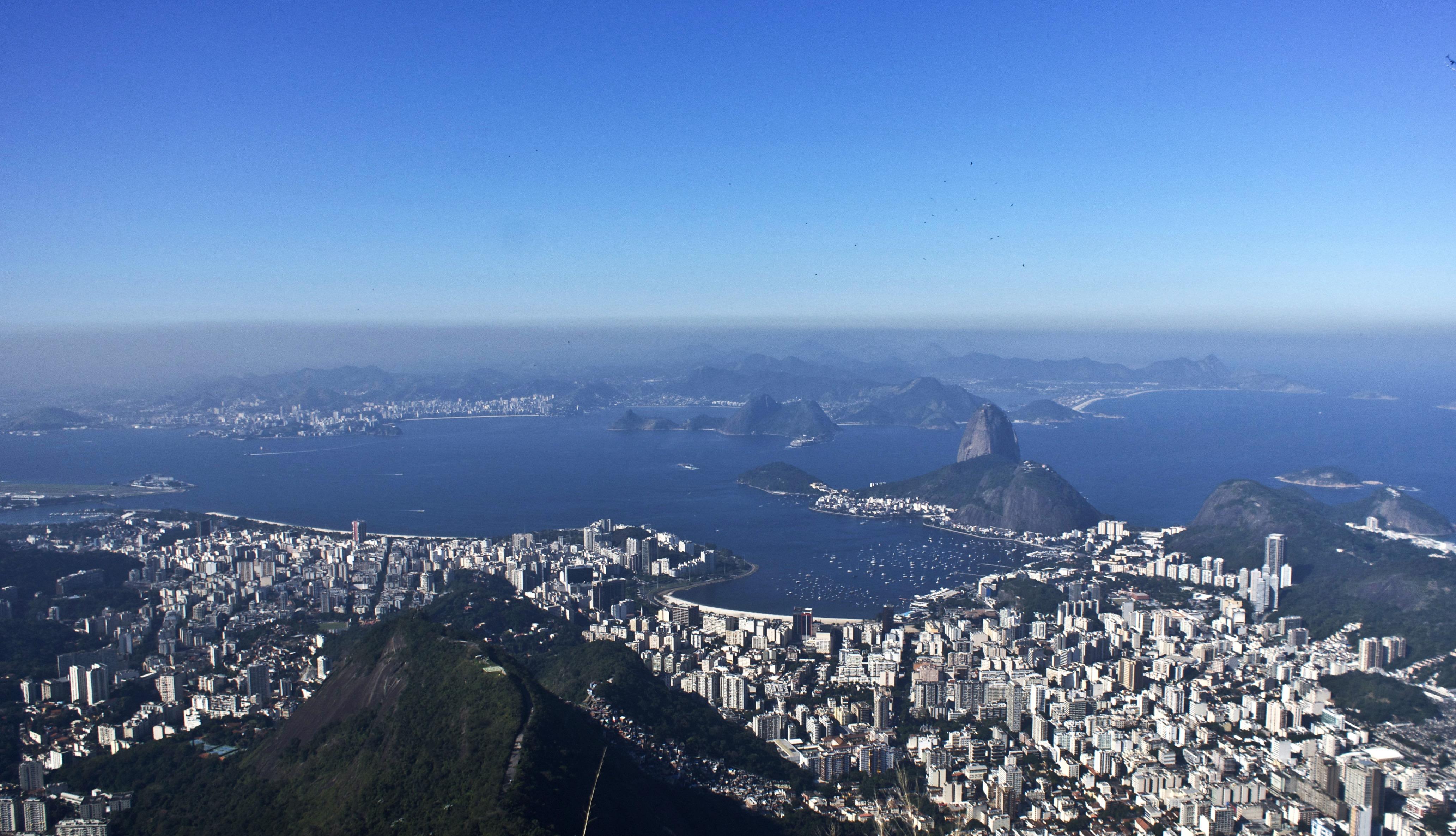 A work by Does - Does rio de Janeiro brazil 2013 skyline