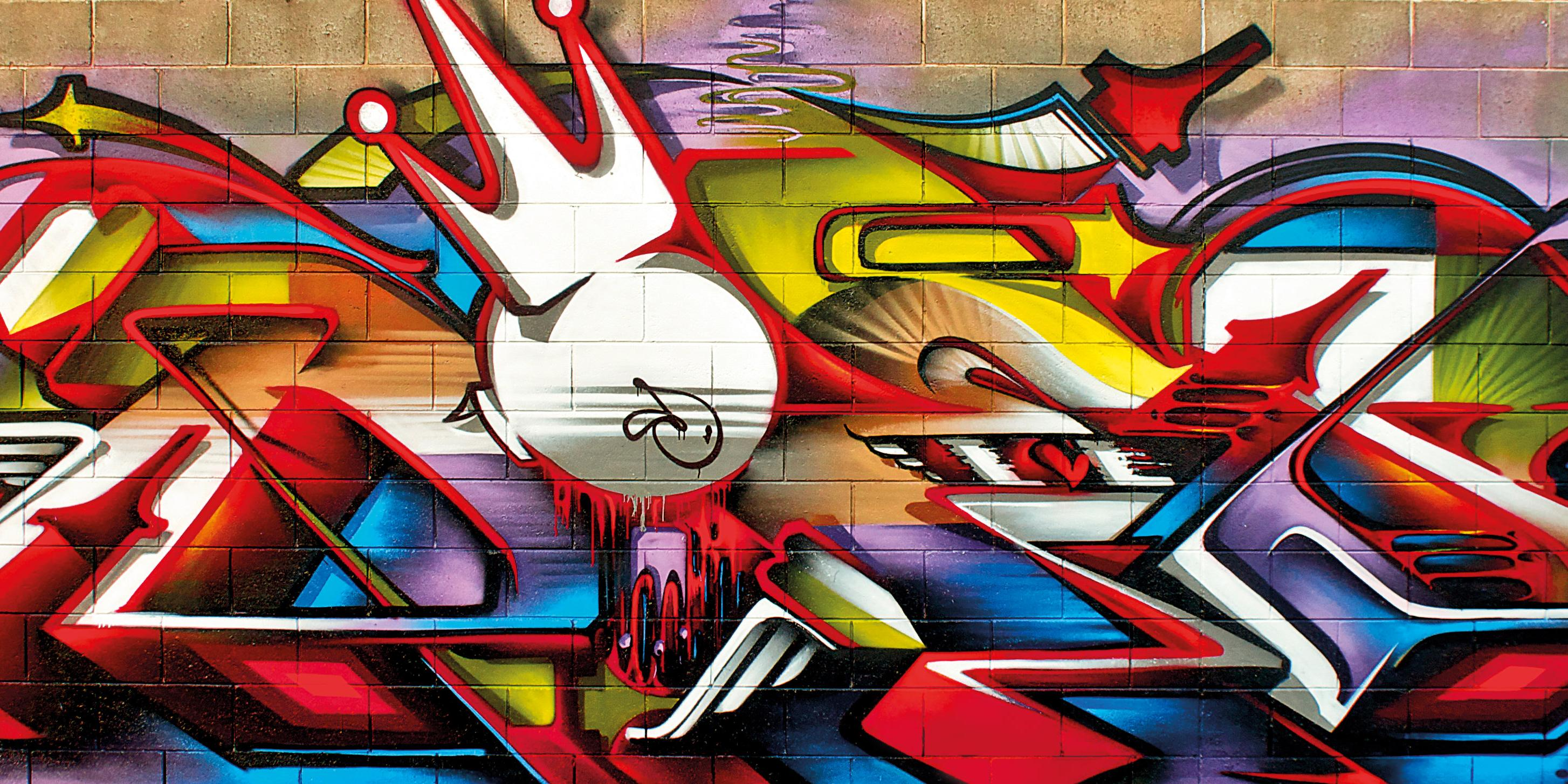 A work by Does - Adelaide australia mural detail 1