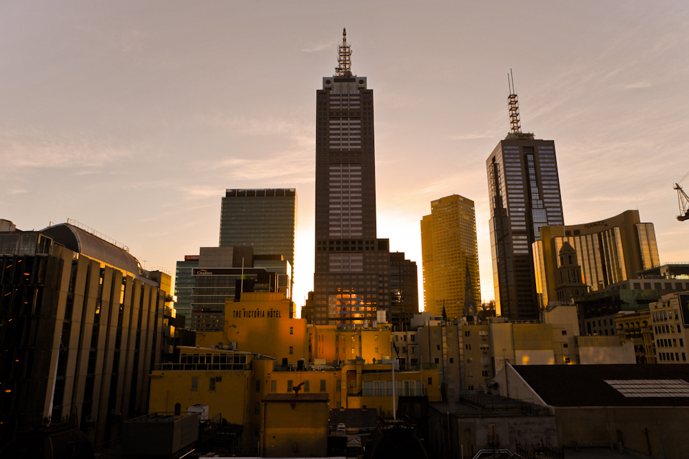 A work by Does - Skyline melbourne australia 1