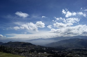 Quito equador skyline 1