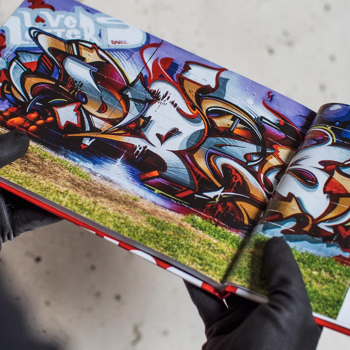 A work by Does - Book graffiti burners page
