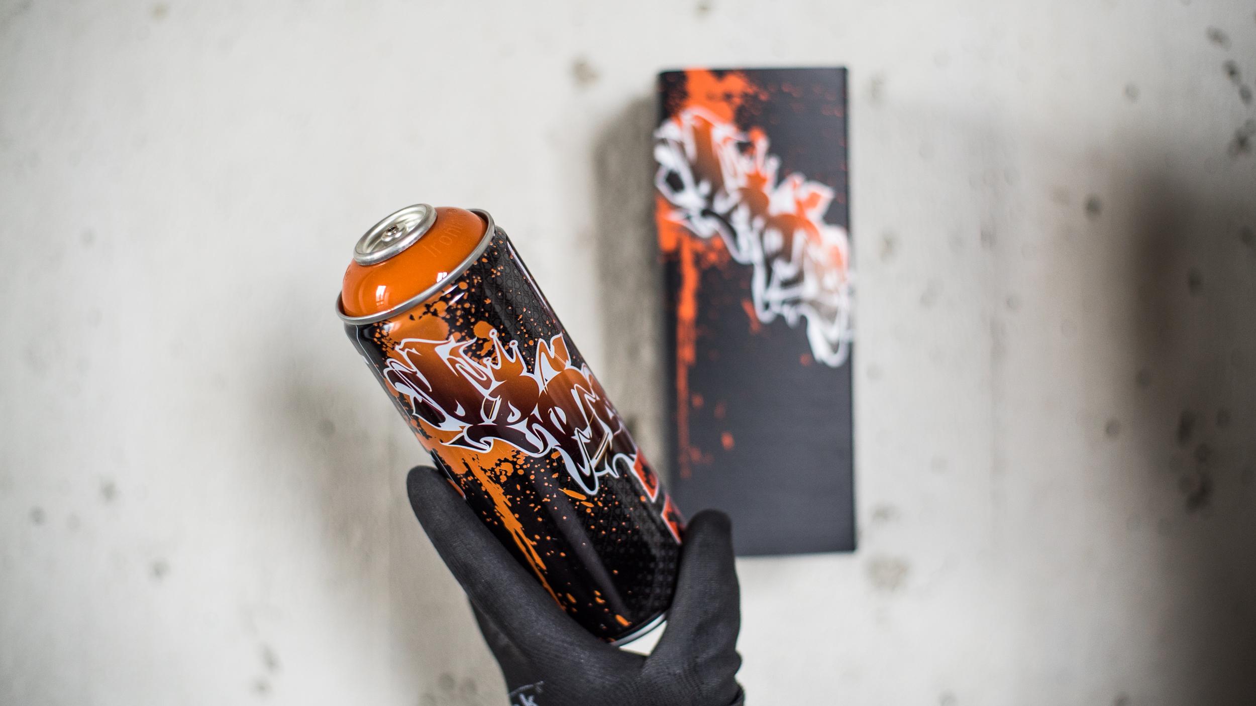 A work by Does - Spraycan dieci does box 2
