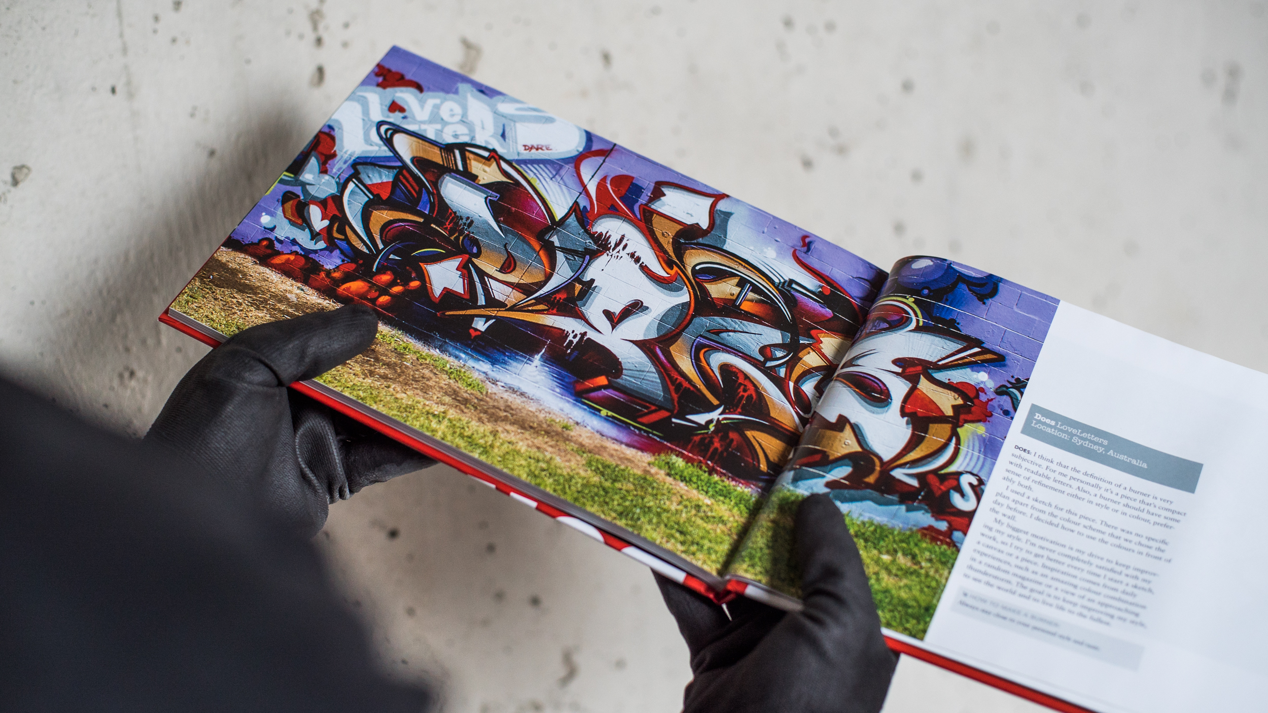 A work by Does - Book graffiti burners page 2