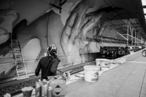Ostendstrasse frankfurt germany tunnel rudi 12