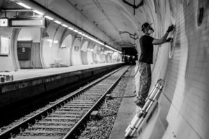 Ostendstrasse frankfurt germany tunnel rudi 9