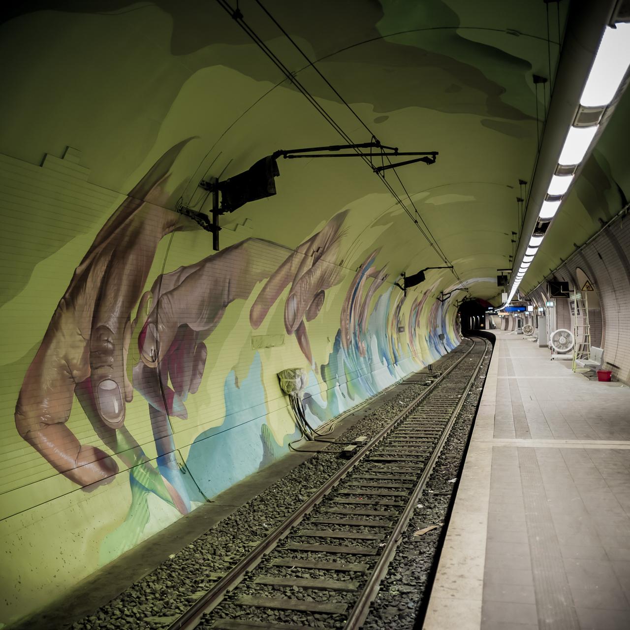 A work by Does - Ostendstrasse frankfurt germany tunnel rudi 4