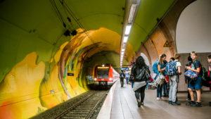Ostendstrasse frankfurt germany tunnel 23