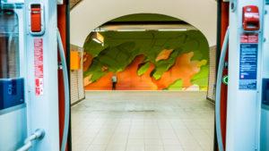 Ostendstrasse frankfurt germany tunnel 19
