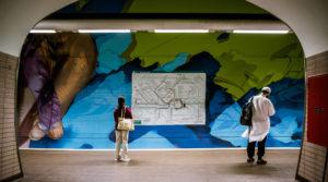 Ostendstrasse frankfurt germany tunnel 9