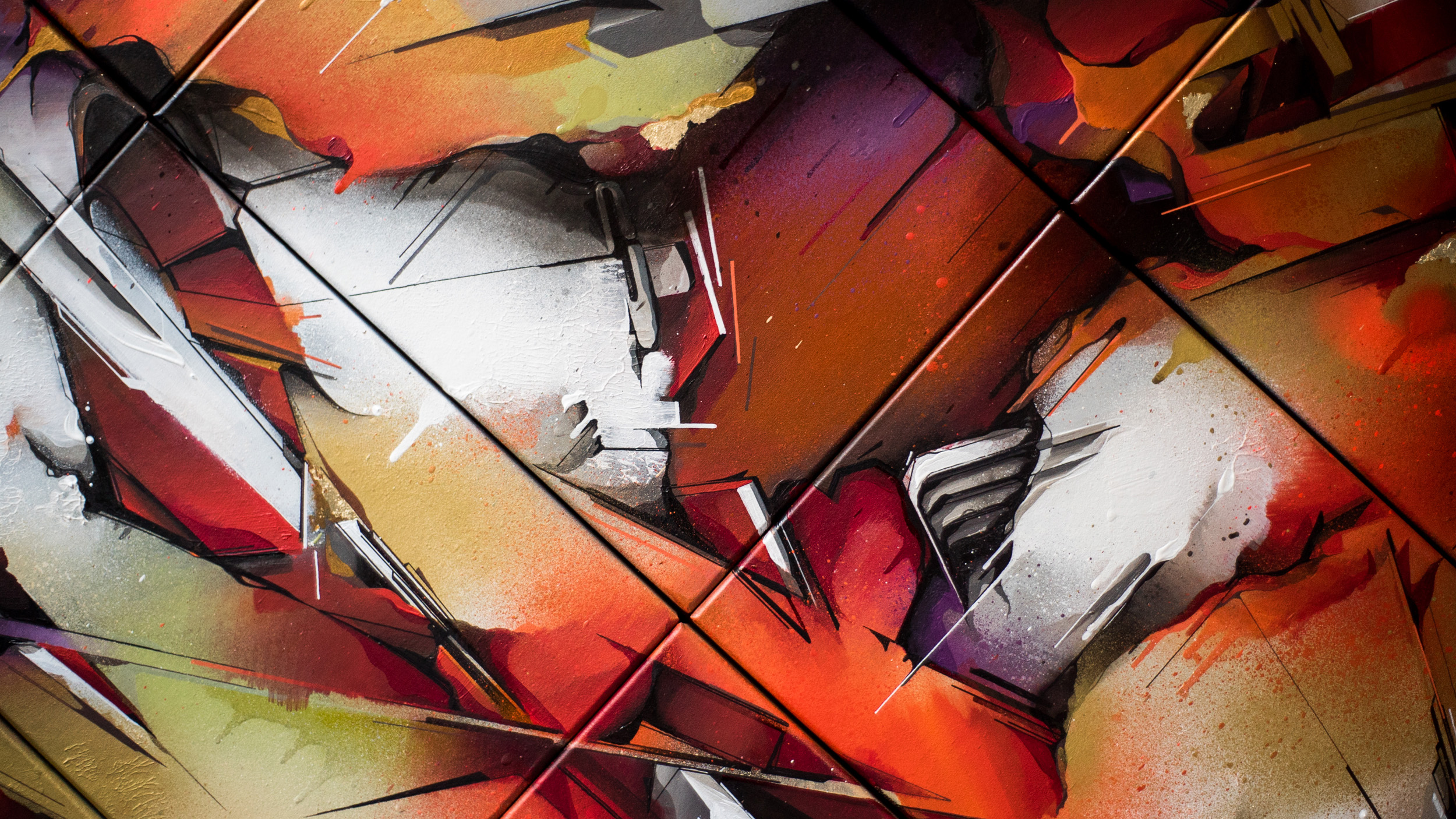 A work by Does - Qui facit creat deluxe edition detail 1