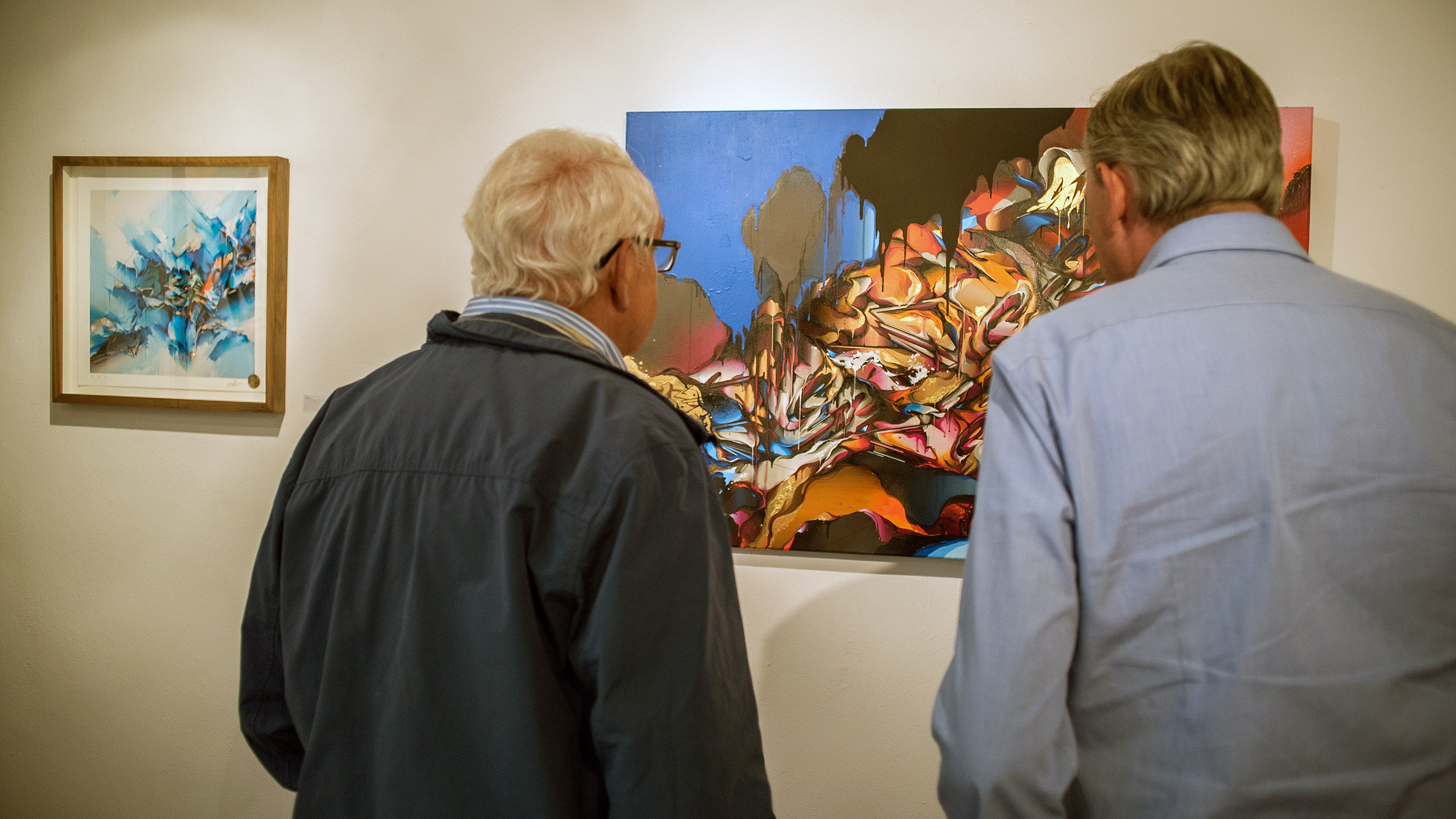 A work by Does - Authenticus exhibition amsterdam dampkring gallery 9