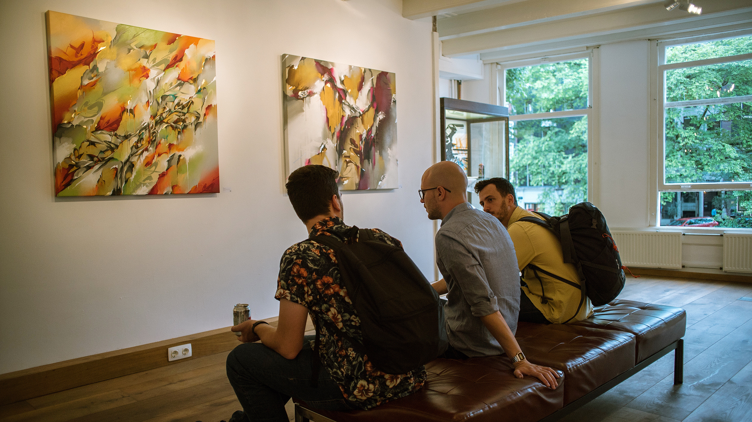 A work by Does - Authenticus exhibition amsterdam dampkring gallery 1