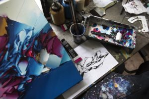 Echoes studio wouterkooken canvas 1