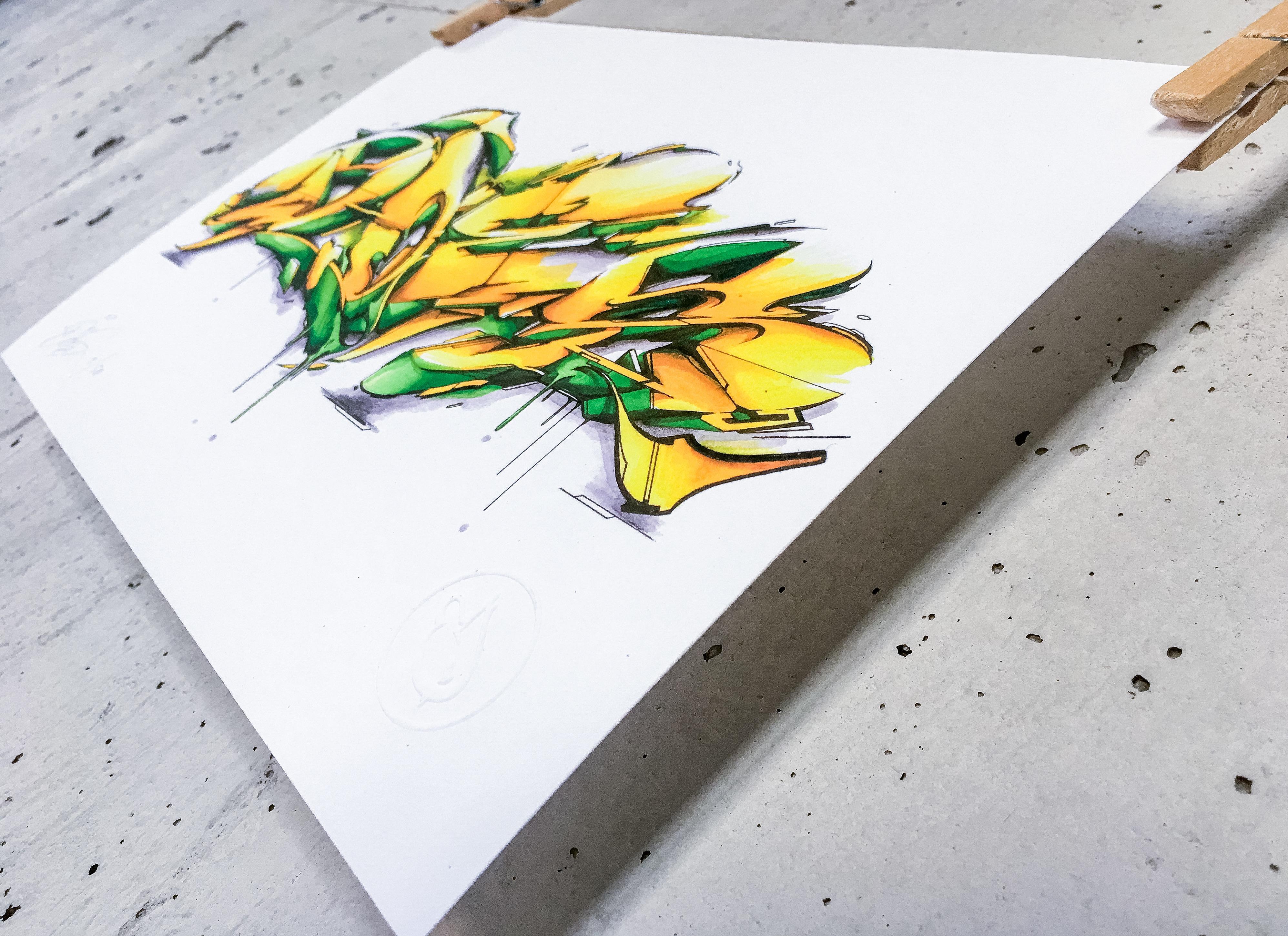 A work by Does - bewerkt 2-smaller