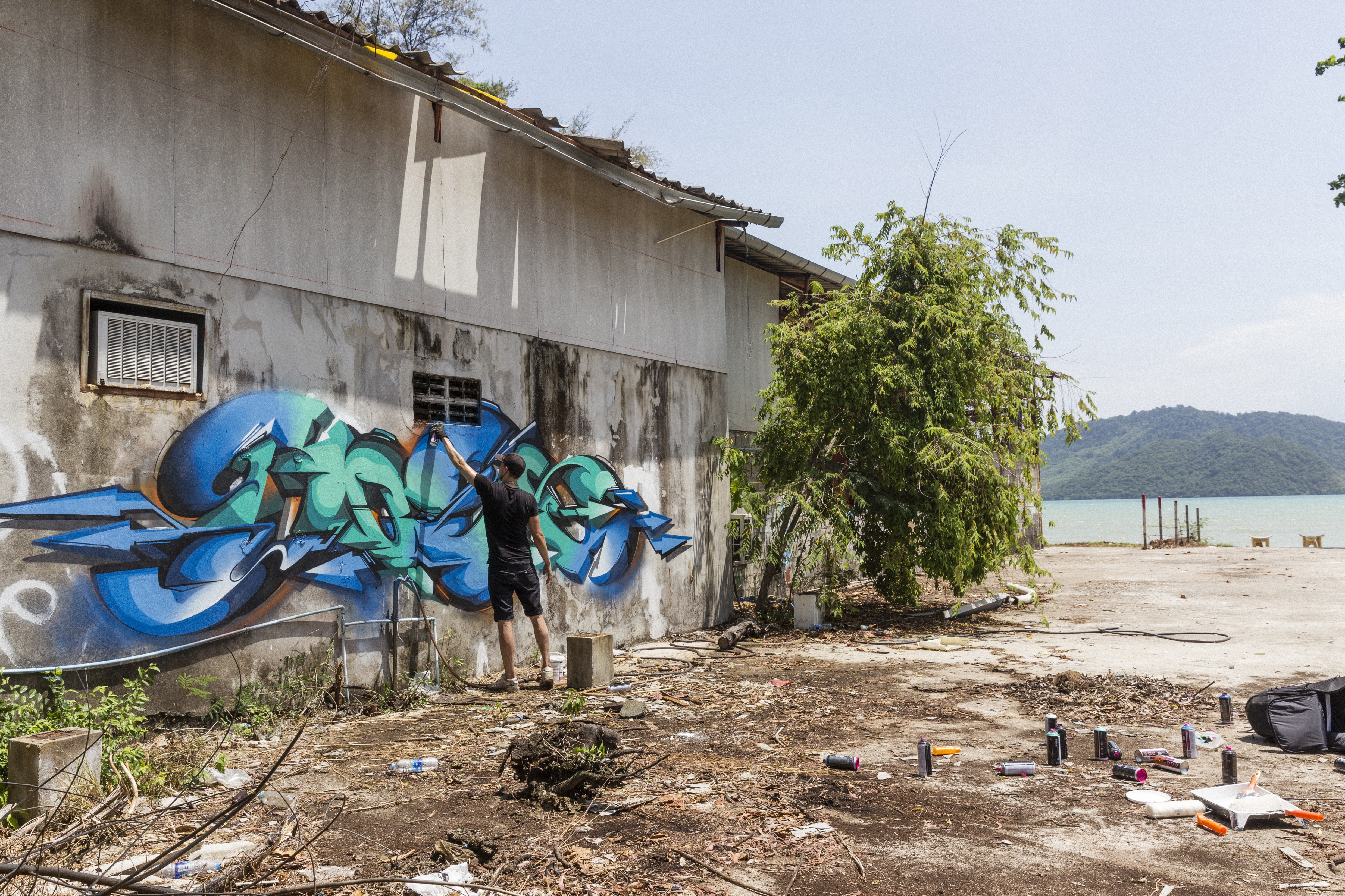 A work by Does - 201702-DOES-Ironlak-Thailand_LukeShirlaw_img_1462-smaller