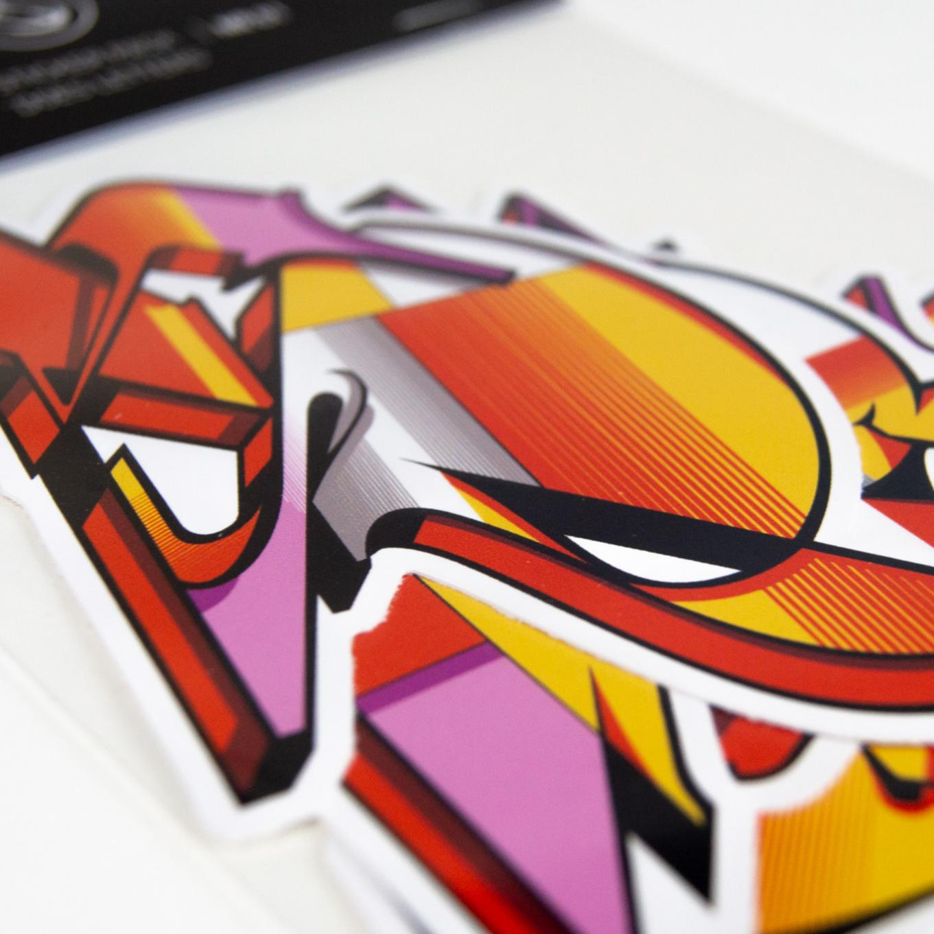A work by Does - Stickerpack 'DOES Letters' nr01_thumb