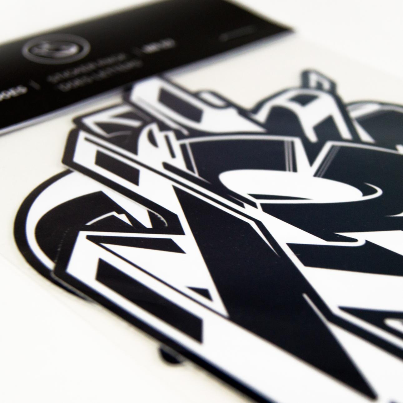 A work by Does - Stickerpack 'DOES Letters' nr02_thumb