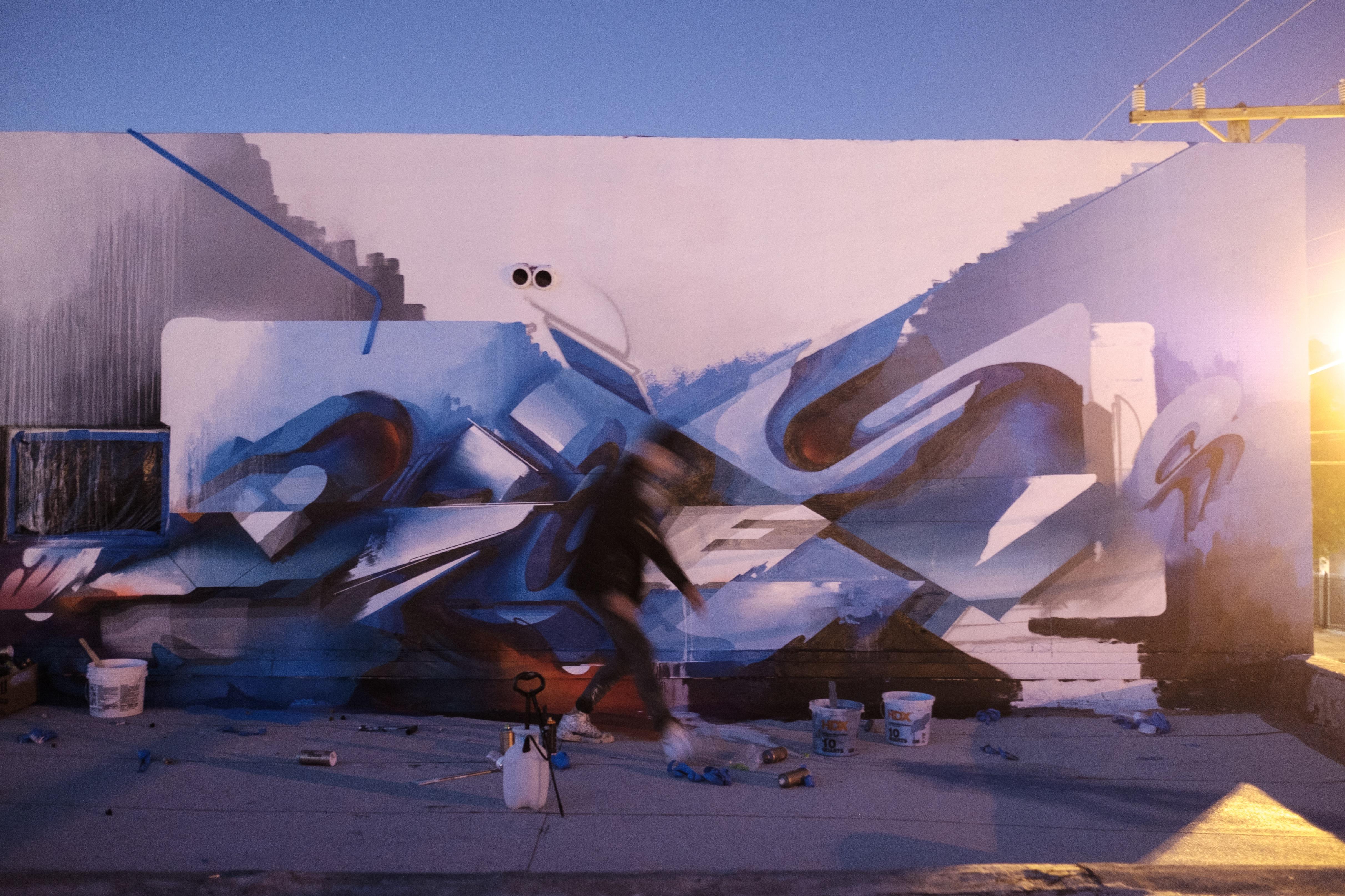 A work by Does - Art Basel Week at Wyn317 by G A Y A M A N