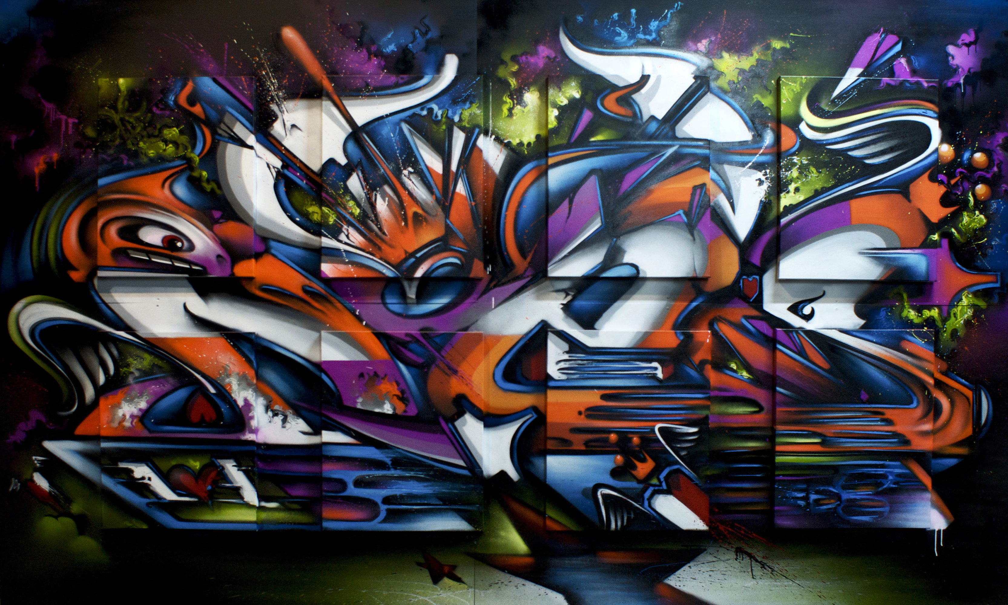 A work by Does - Melbourne 1