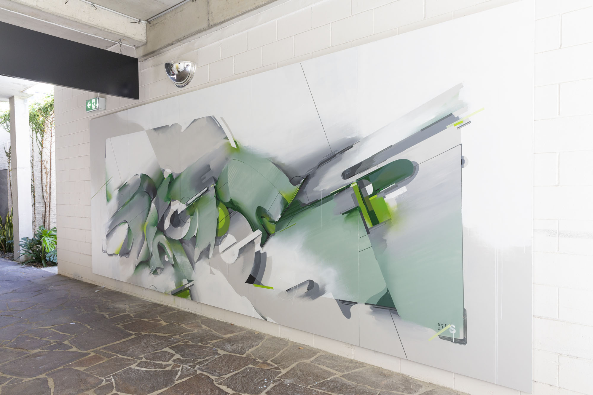 A work by Does - 201905-DOES-QUT-Brisbane_LukeShirlaw_IMG_0864