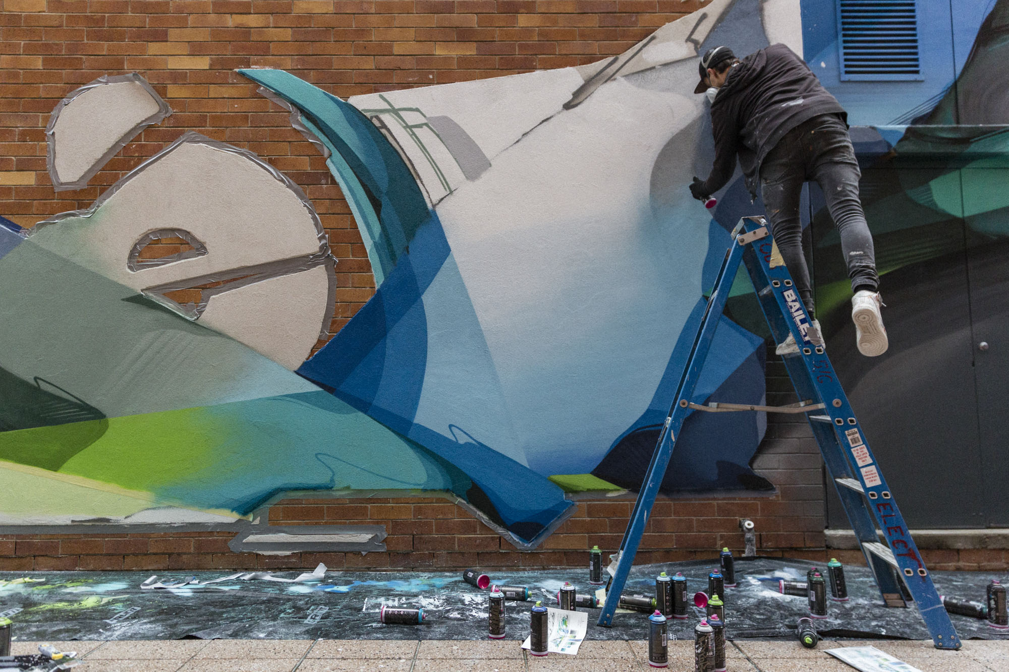 A work by Does - 201905-DOES-QUT-Brisbane_LukeShirlaw_IMG_9415