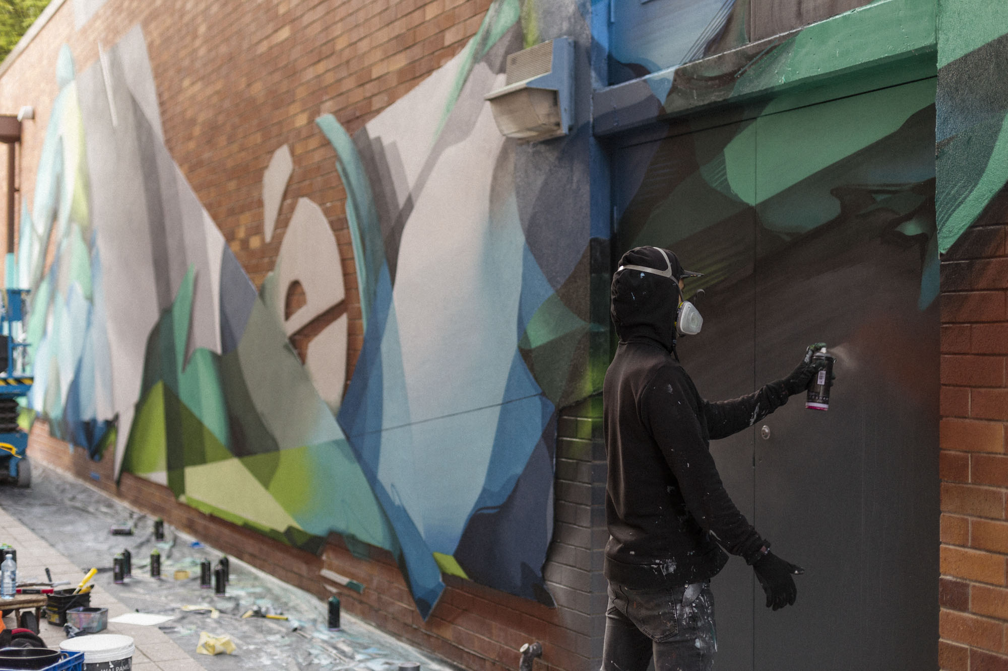 A work by Does - 201905-DOES-QUT-Brisbane_LukeShirlaw_IMG_9923