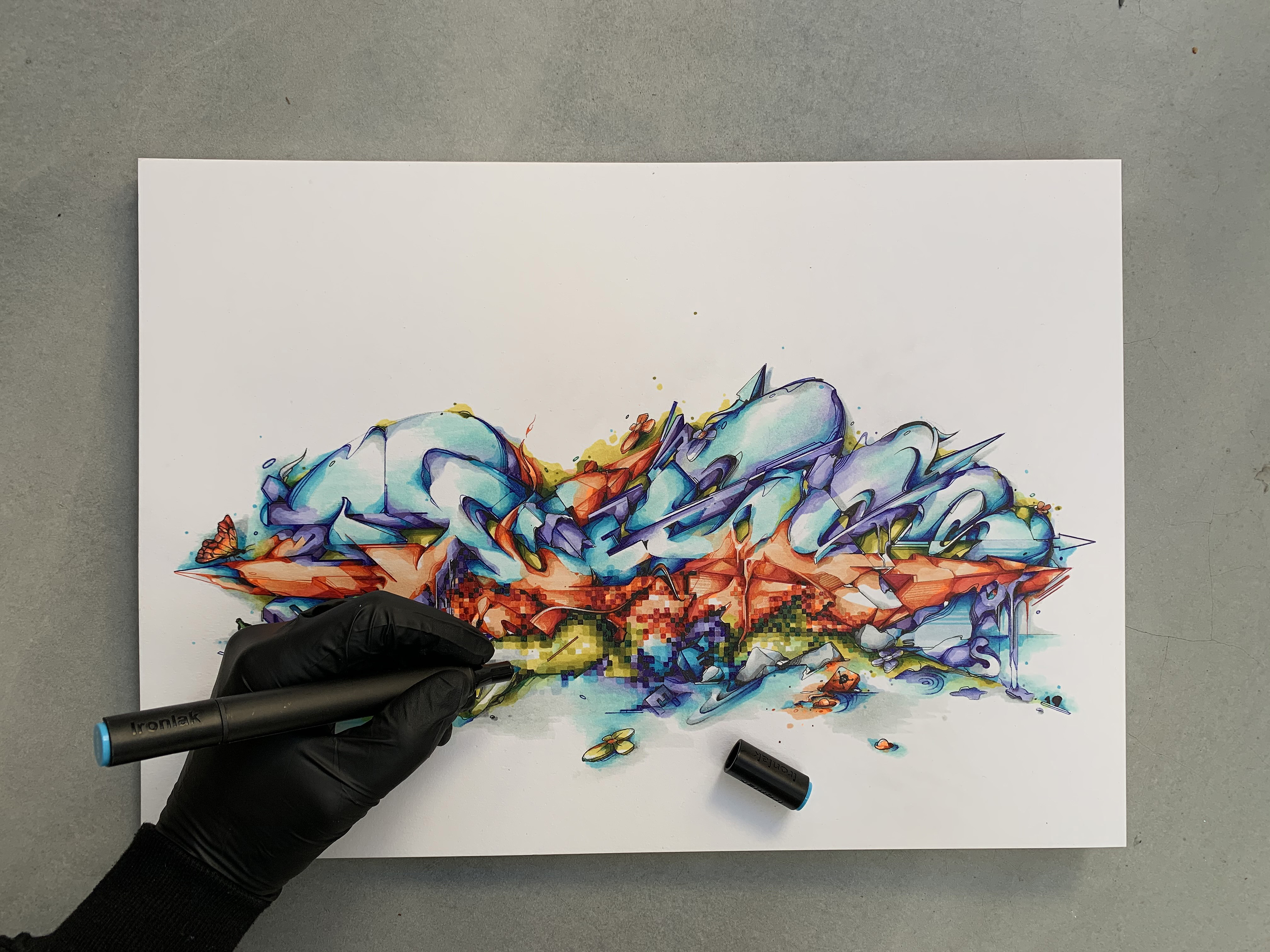 A work by Does - header 2